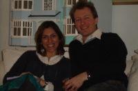 Nazanin Zaghari Ratcliffe a'i gŵr Richard Ratcliffe