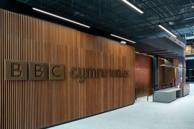 Canolfan ddarlledu newydd BBC Cymru Caerdydd