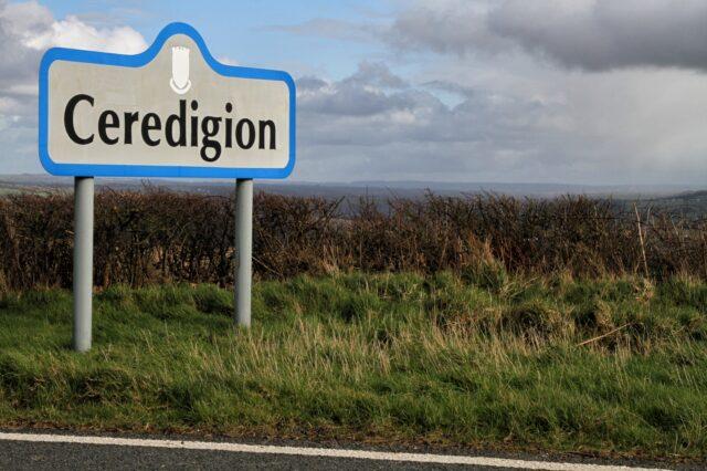 Arwydd Ceredigion