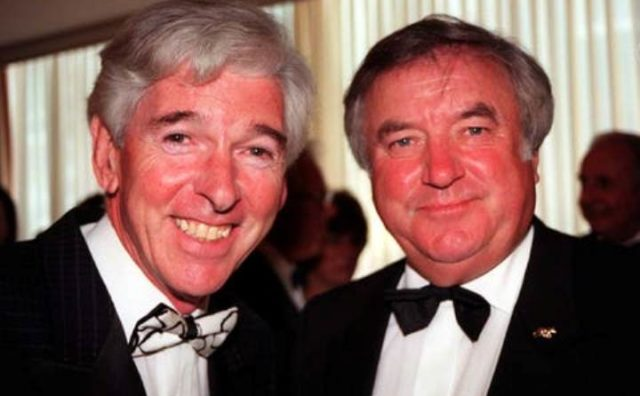 Tom O'Connor a Jimmy Tarbuck